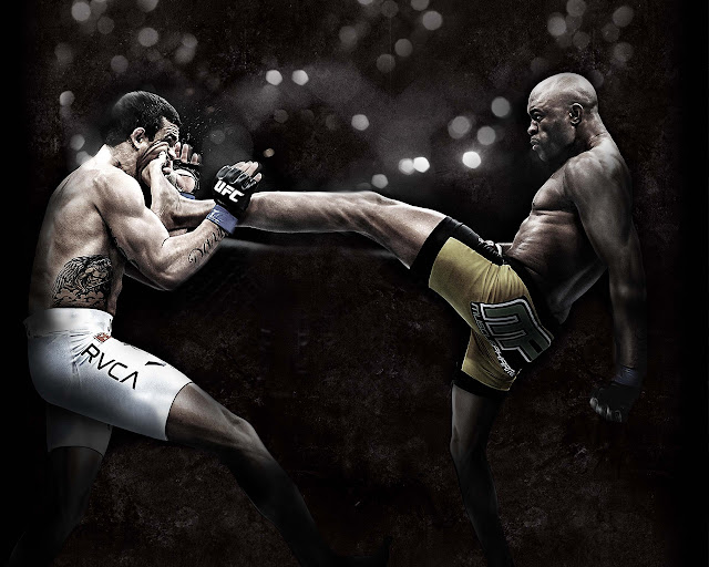 ufc mma fighter anderson the spider silva wallpaper picture image