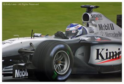 kimi raikkonen mclaren silverstone british grand prix