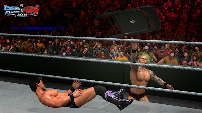 Download Smack Down VS Raw 2011 Game For PC