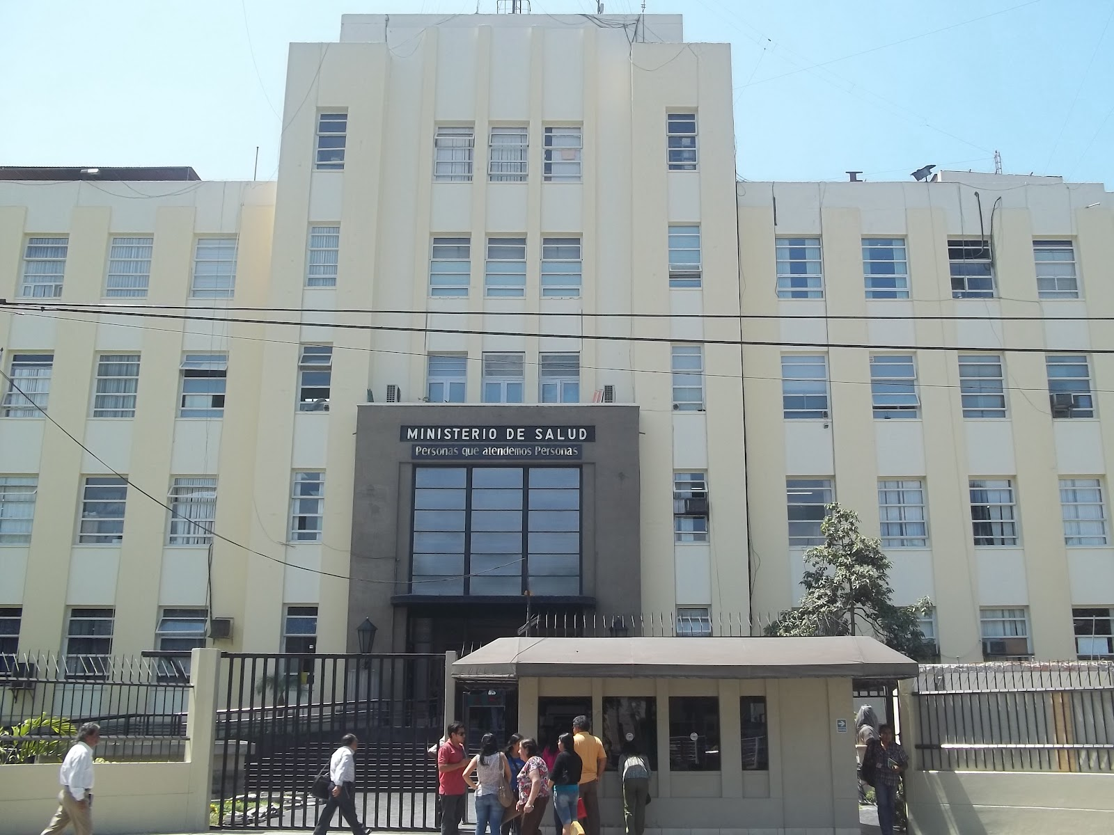 Arquitectura contemporanea de lima 4854 ministerio de salud for Sueldos del ministerio del interior