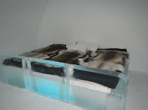 Bed Made From Ice