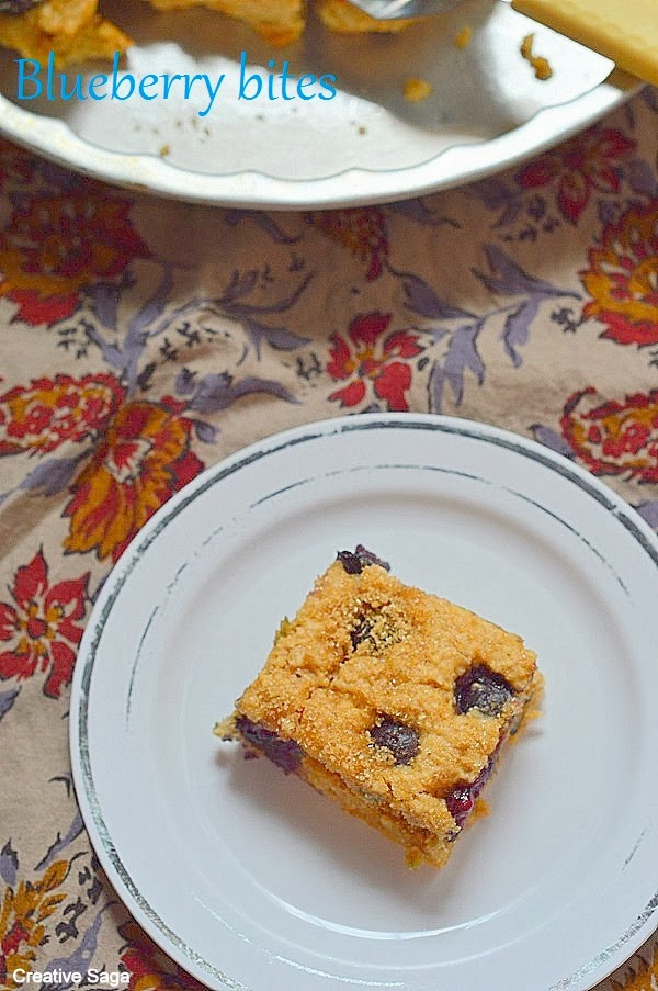 low fat blueberry bars