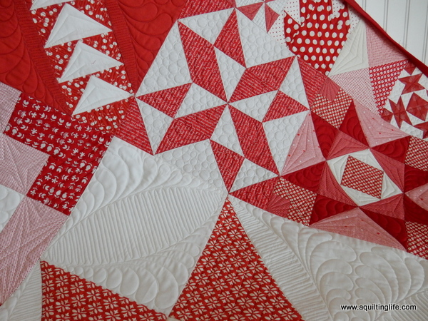 Red & White Moda Building Blocks Quilt | A Quilting Life - a quilt ... : red quilts - Adamdwight.com