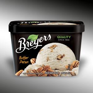 PINK MANHATTAN: My Butter Pecan Ice Cream Experiment