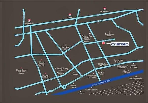 The Cristallo Location Map