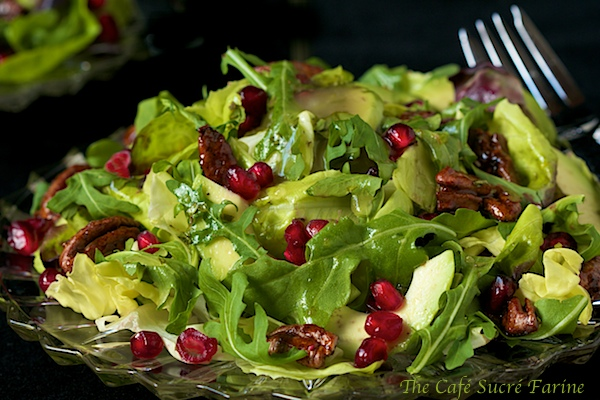 Avocado and Pomegranate Salad