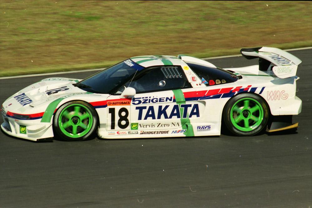Honda NSX, Takata, wyścigi, sportowe samochody z lat 90, najlepsze silniki V6
