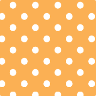 Orange Polka Dot Paper