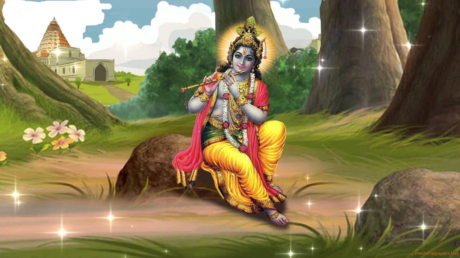 Lord shree bal krishna wallpaper beautiful hd wallpaper - Radhe Krishna Images