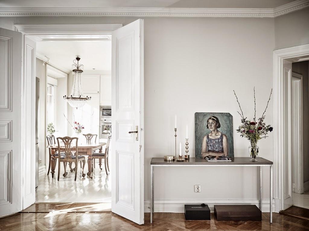 Elegant Gothenburg home photo by Entrance, Jonas Berg