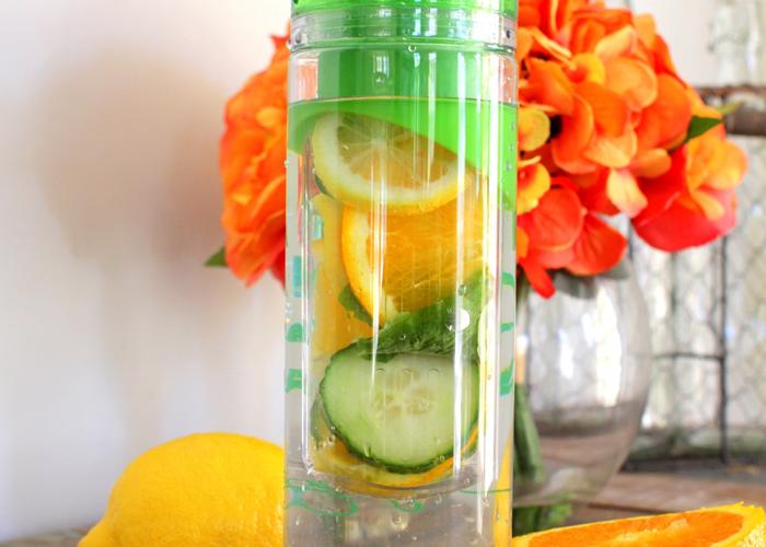 truco beber agua infusionada
