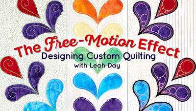 Leah Day Craftsy class | The Quilting Effect