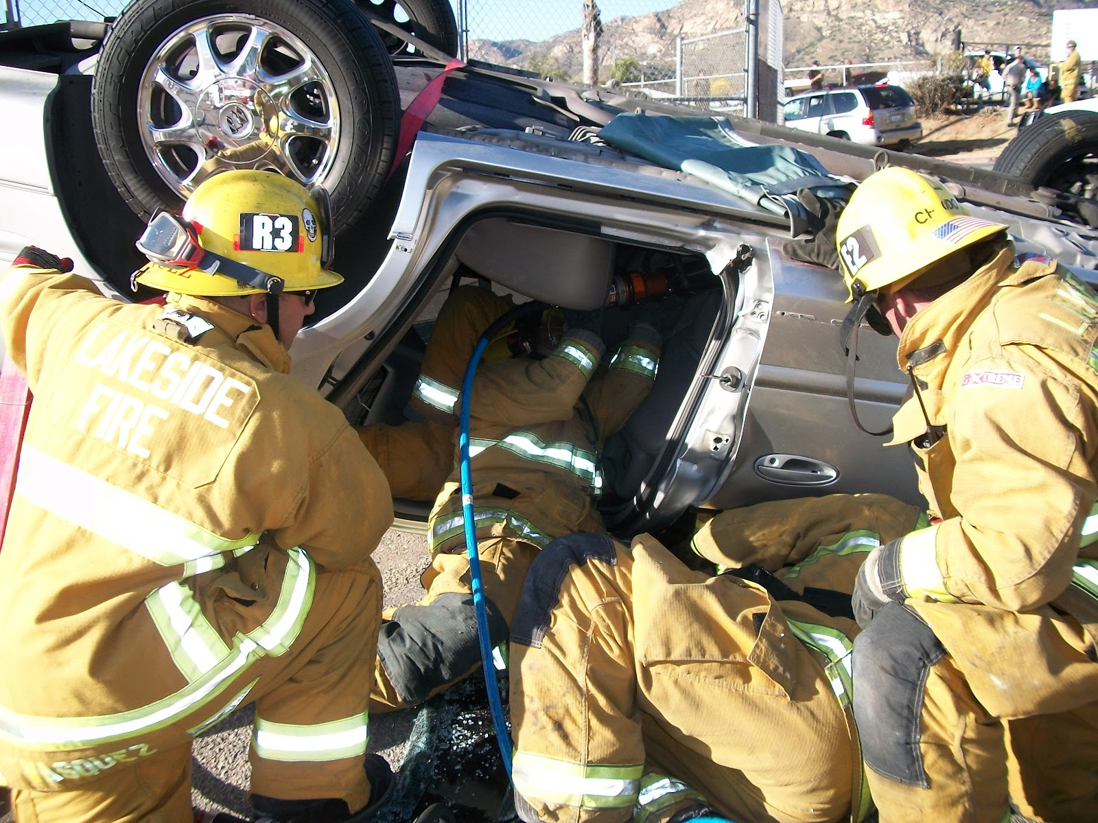 """firefighters vs paramedics It's not uncommon for me to get emails from aspiring firefighters asking me for  career  """"should i get my fire science degree or go to emt/paramedic school."""