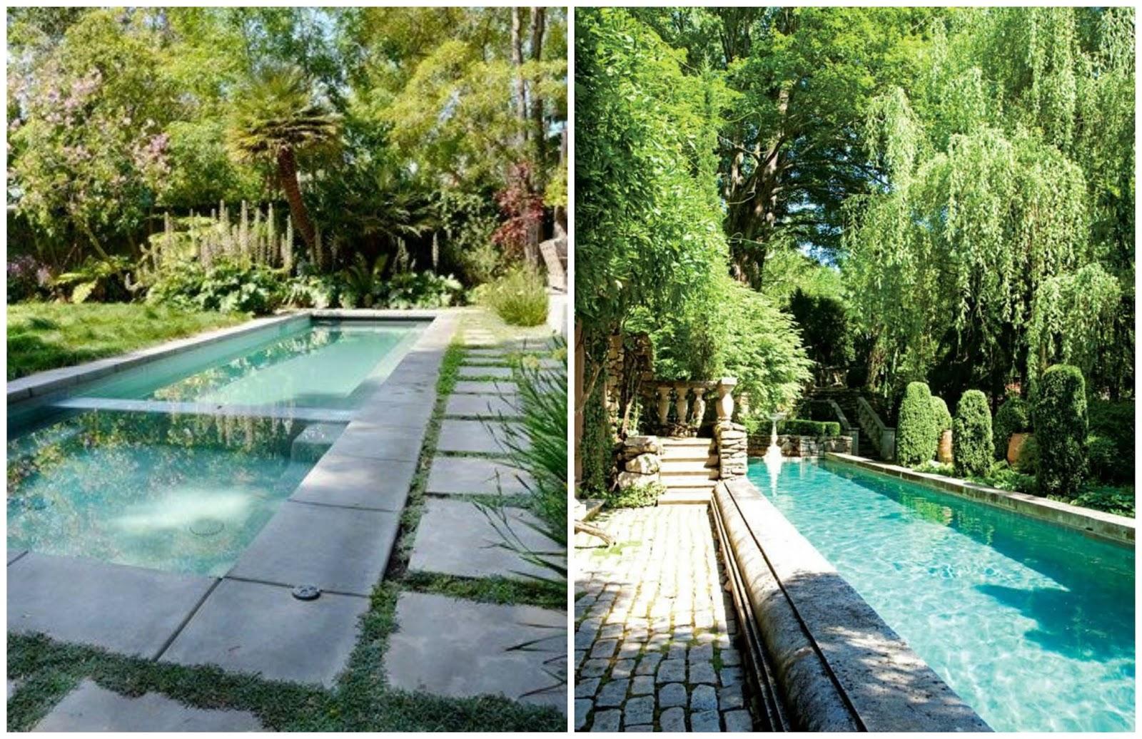 100 tonos de verde buscando inspiracion piscinas perfectas Piscinas alargadas y estrechas