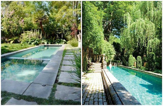 100 tonos de verde buscando inspiracion piscinas perfectas for Piscinas alargadas