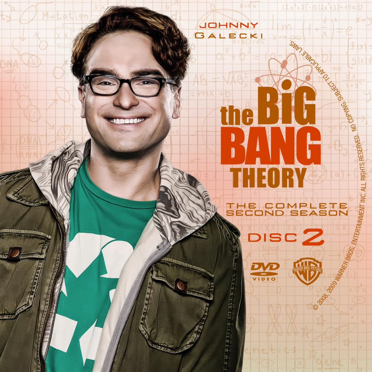 Label The Big Bang Theory The Complete Second Season