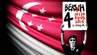Singapura beri amaran keras kepada peserta Bersih