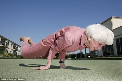 Case study sedentary female senior citizen workout for general health