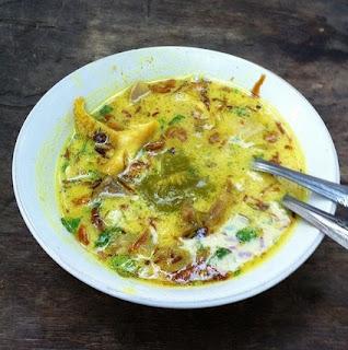 Cara membuat soto kuning bening Bogor