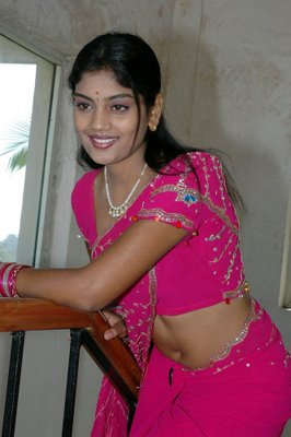 karuna star mallu in pink saree album actress pics