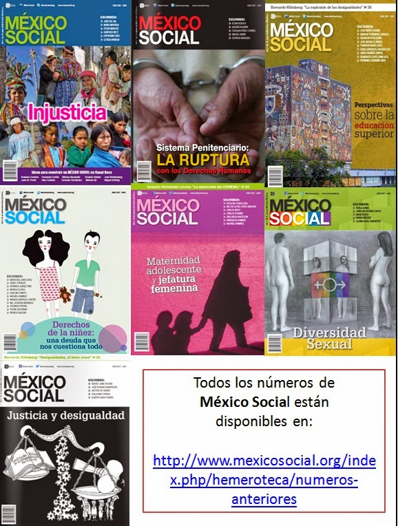 Números anteriores de México Social