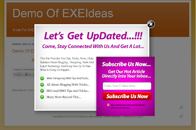 Beautiful EXE-Style POP-UP V3 Widget For Blog And Website.