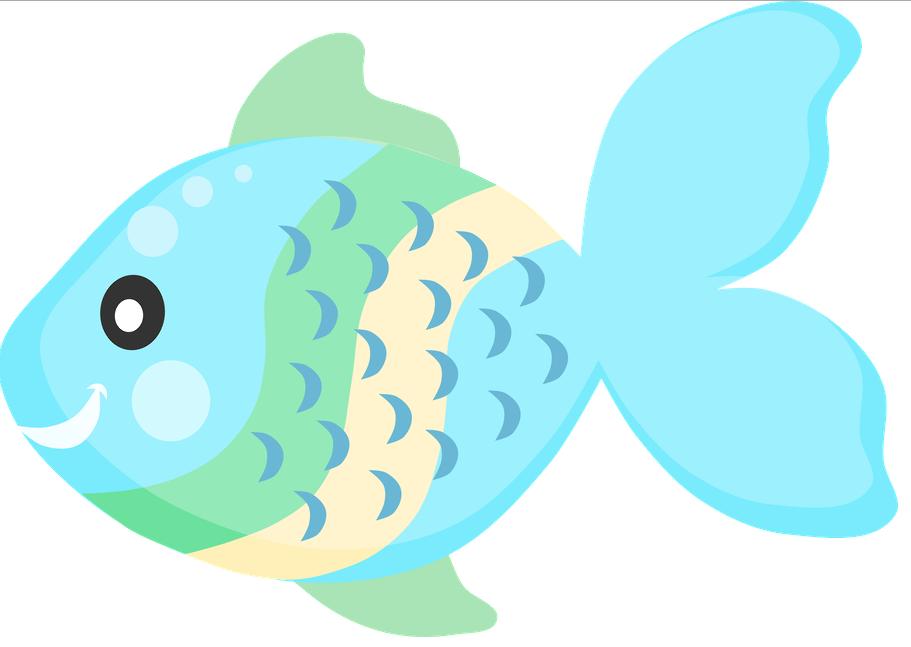 Fantasia de una princesa animales marinos 1 - Poisson dessin couleur ...