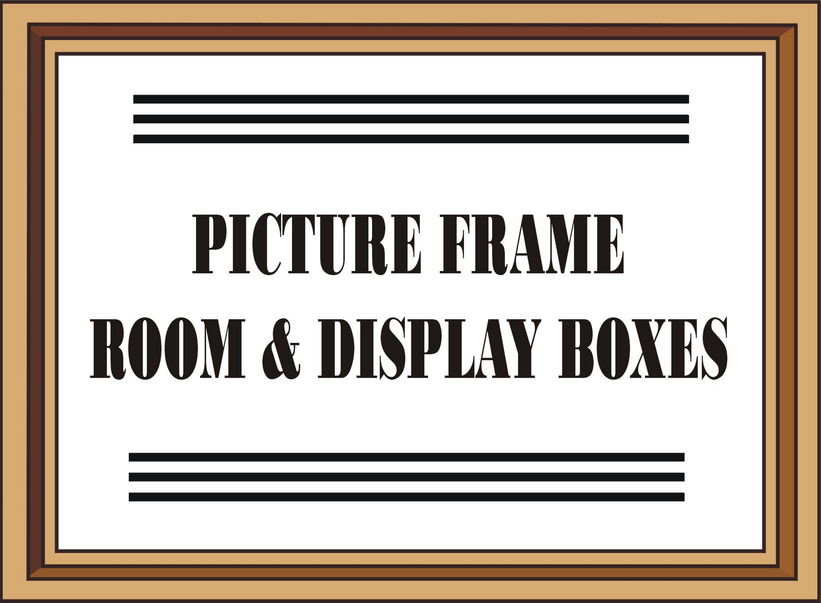 Dyi dollhouse miniatures making rooms display boxes from note i have added instructions for a table lamp using the picture frame room box at the end of this project jeuxipadfo Image collections