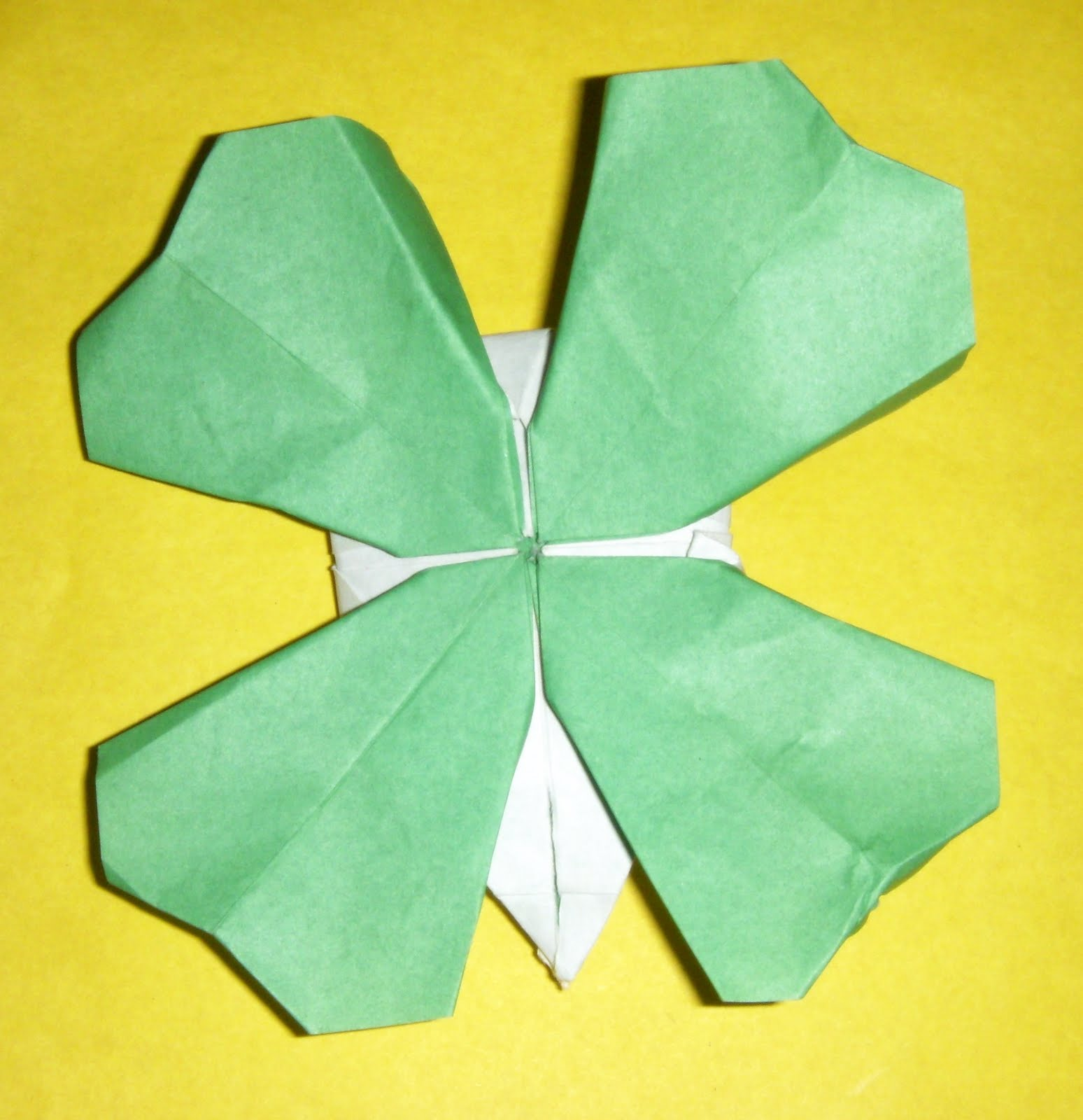 Diagrams Origami Leaf Modern Design Of Wiring Diagram Complex Dragon Instructions How To Make Four Clover Star Easy