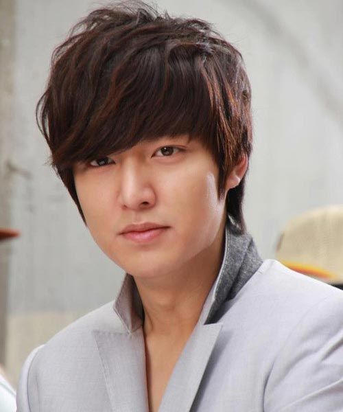 Lee Min Ho wavy hairstyle