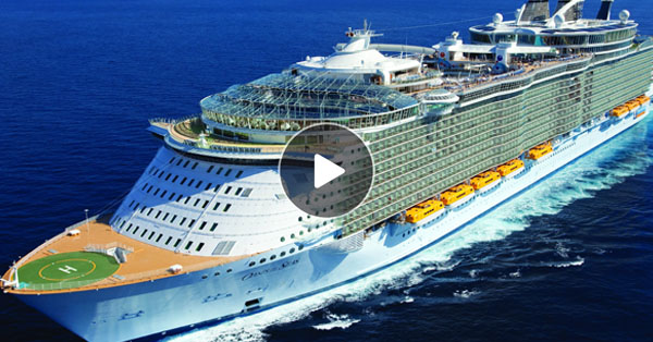 Inside The Largest Cruise Ship Detlandcom - Pictures of the inside of a cruise ship