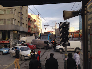 Sultangazi'de Tramvay Kazası