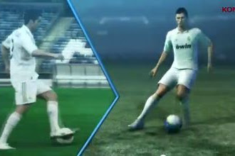 Video Dahsyatnya Ronaldo di Game PES 2013