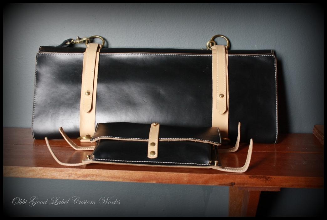 custom works chef 39 s knife bag. Black Bedroom Furniture Sets. Home Design Ideas