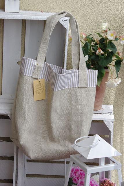 lniana torba, len na torbę, torba eko, torba na zakupy