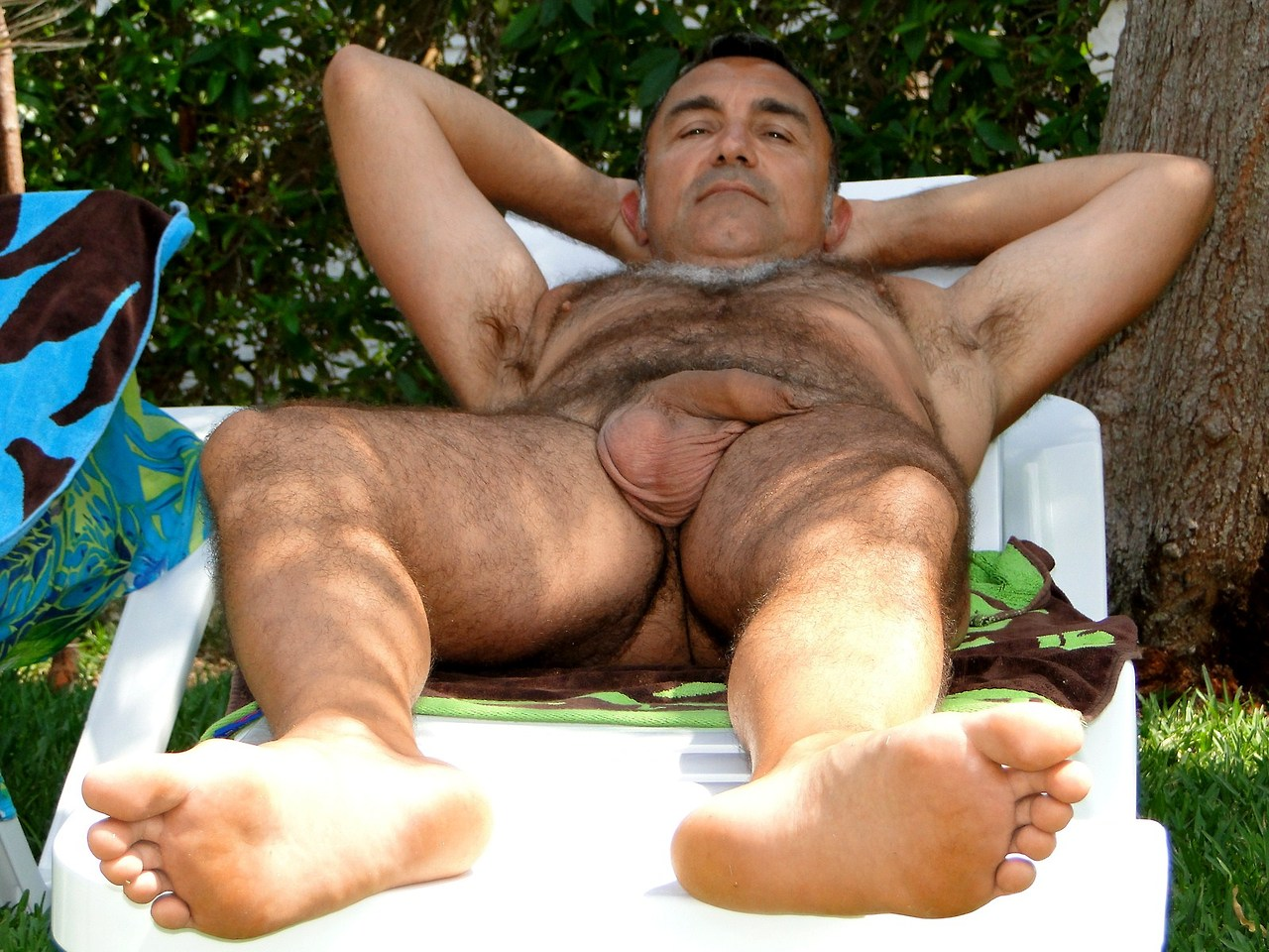 naked men - hairy naked men - sexy