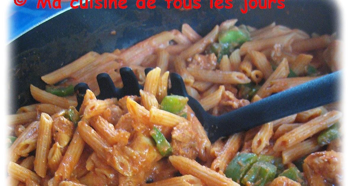 Penne au poulet fajita one pot for Assaisonnement tacos maison