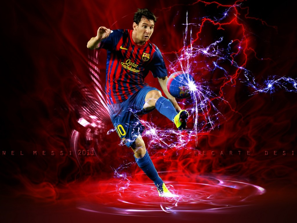 Football: Messi 2013