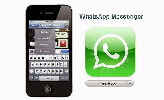 Aplikasi iPhone Terbaik 2015 - Whatsapp Messenger