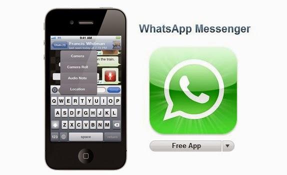 Aplikasi iPhone Terbaik 2015 - Whatsapp Messenger