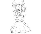 #4 Paula Coloring Page