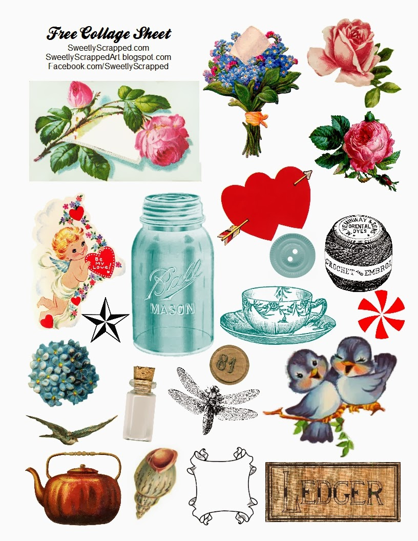 Gratifying image with free printable collage sheets