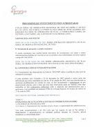 PREVISIÓNS DE INVESTIMENTO NON ACREDITADAS (ANO 2008)