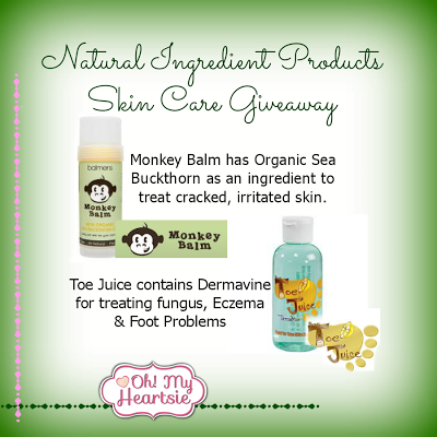 Skin+Care+Giveaway+Oh+My+Heartise Natural Skin Care Giveaway! (Feb. 6th   Feb. 12th)