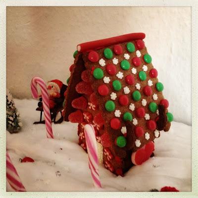 Nisselandskab, julepynt, kagehus