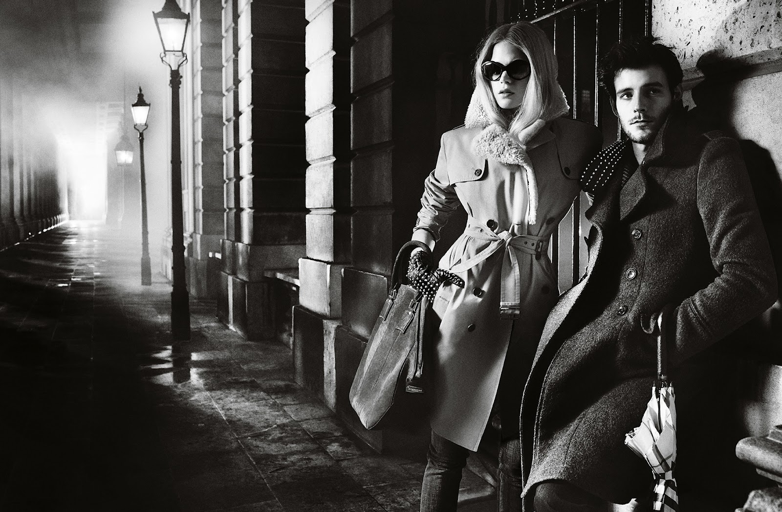Burberry Autumn / Winter 2012 Ad feat.Gabriella Wilde, Roo ...
