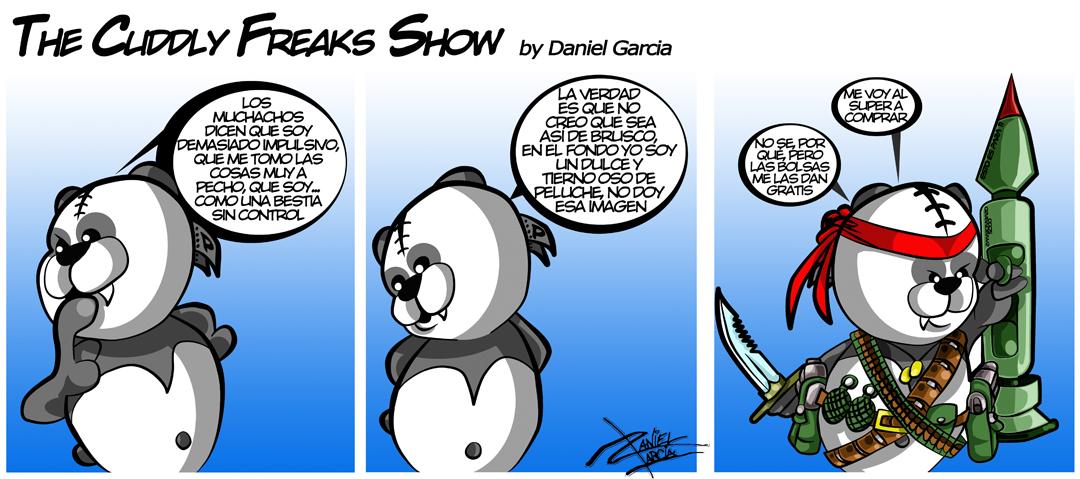 The Cuddly Freaks Show Tira 21: ¡Esto es un infierno!
