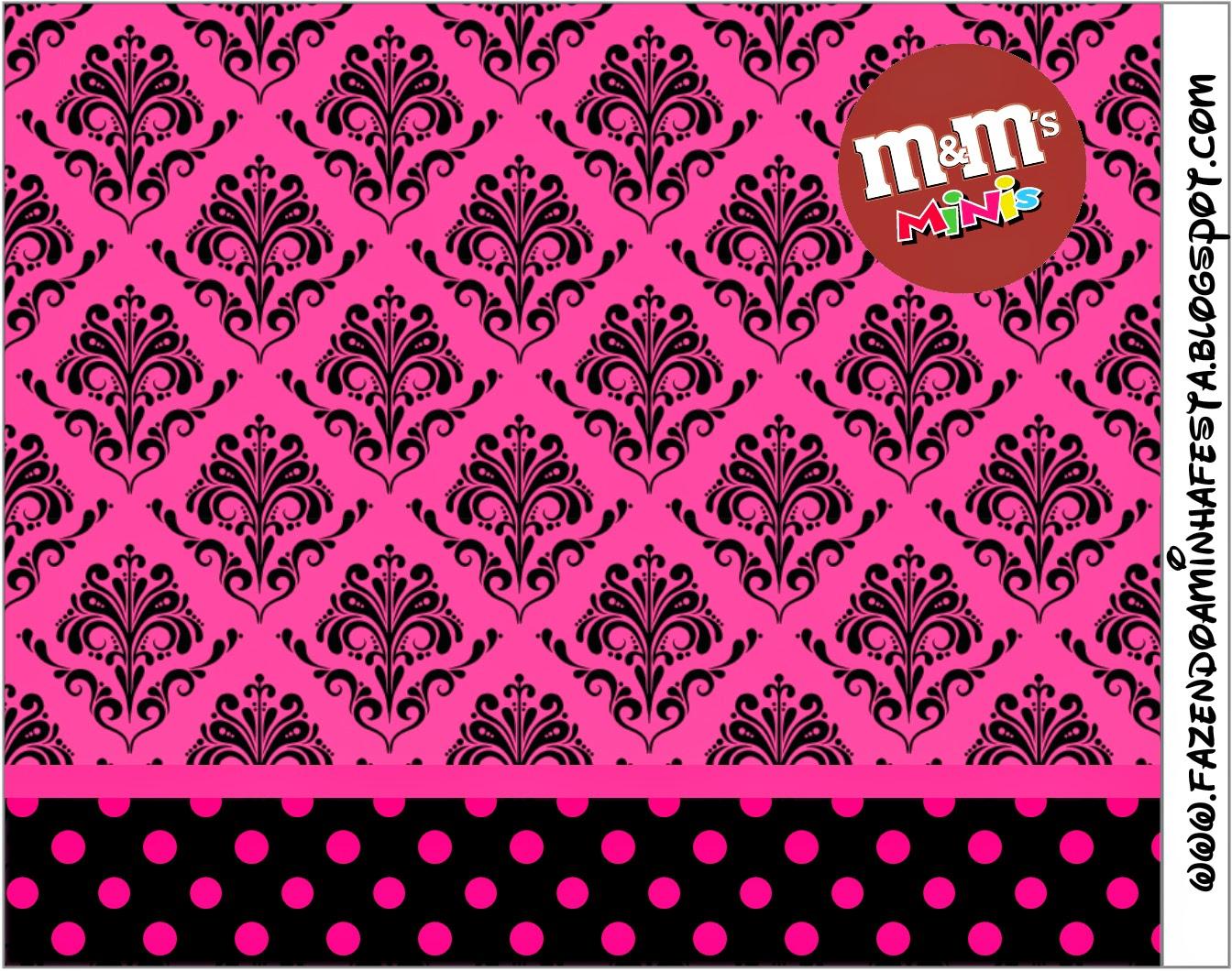 Etiqueta para M & Ms.