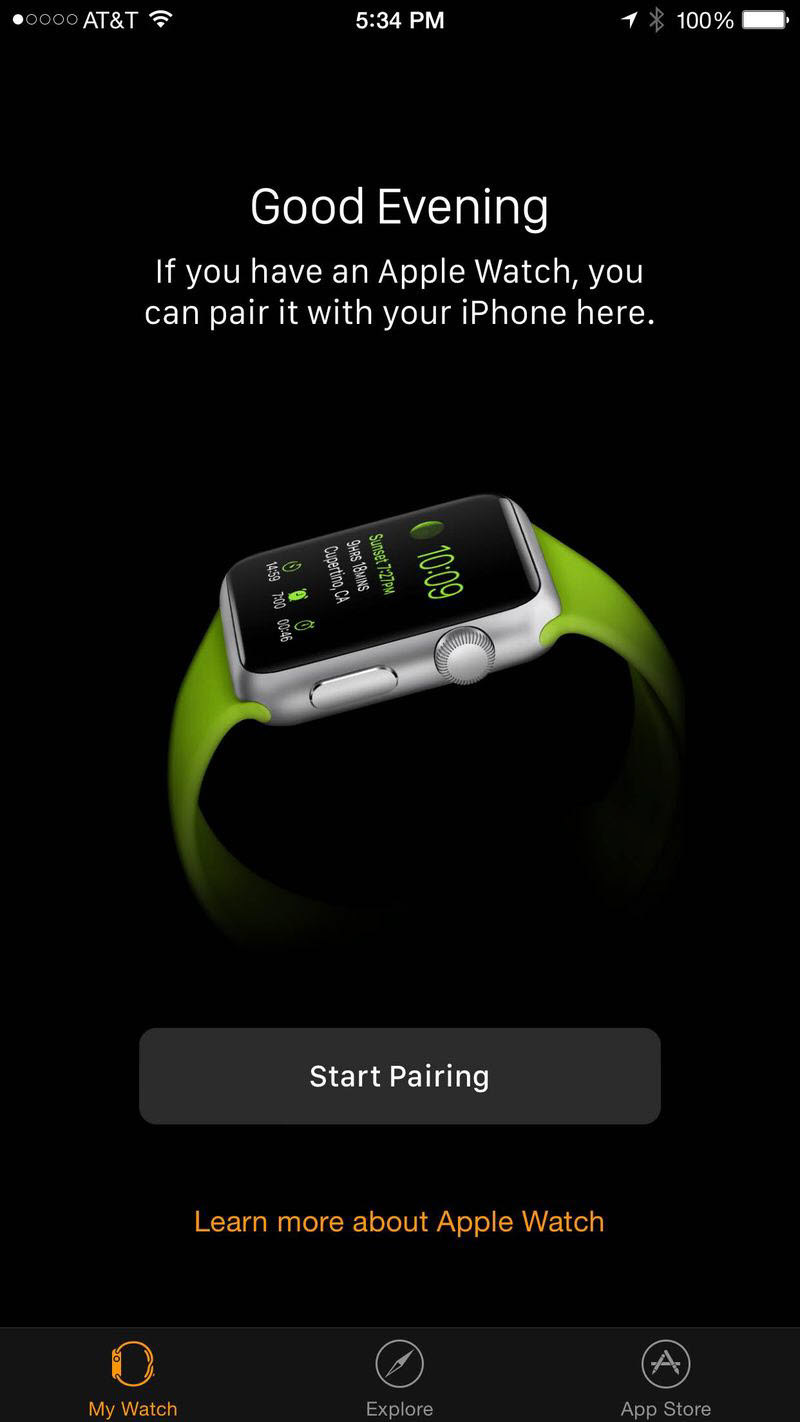 Apple Watch companion app (2)