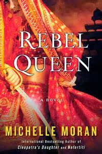 Rebel Queen by Michelle Moran book cover
